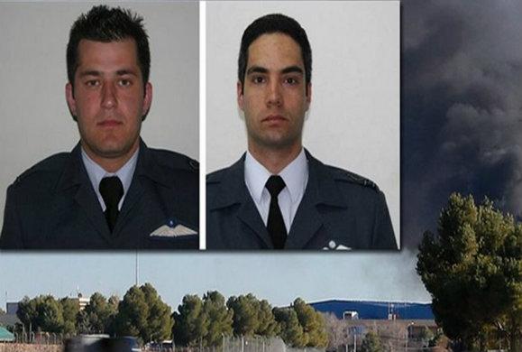 Στην Αθήνα οι σοροί των δύο πιλότων το πρωί της Πέμπτης