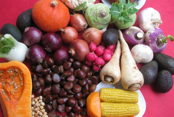Oι πληροφορίες που μας δίνουν τα χρώματα των τροφών για την υγεία