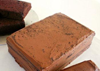Τραγανή σοκολάτα με γκοφρέτα