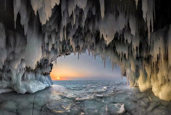 Λίμνη Βαϊκάλη: Εικόνες απίστευτης ομορφιάς