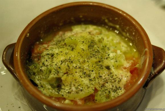 Γιουβέτσι με φέτα, μανιτάρια και ρύζι