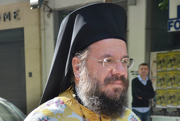 Μεγάλη συγκίνηση στον αποχαιρετισμό  του Αρχιμανδρίτη Κυπριανού Γλαρούδη στην Θεσσαλονίκη