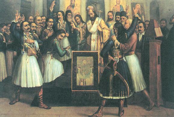 π. Βασίλειος Γιαννακόπουλος: 25η Μαρτίου - Διπλή Χαρά