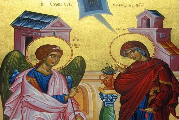 Μήνυμα επί τω Ευαγγελισμώ της Θεοτόκου και τη Εθνική Εορτή της 25ης Μαρτίου