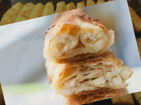 Tραγανά μπουρέκια με τυρί και γιαούρτι από τον Γ.Λέκκα