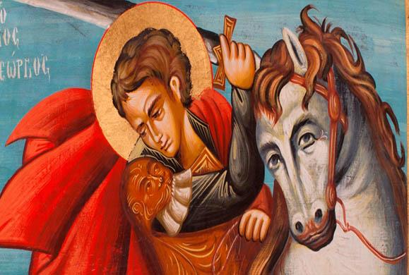 Άγιος Γεώργιος, ο προστάτης του στρατού και της γεωργίας