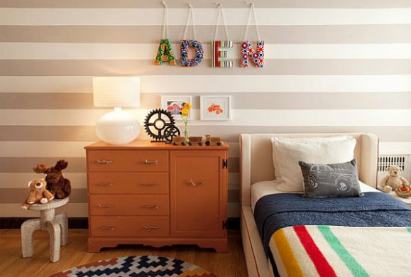 Φτιάξτε πρωτότυπους πίνακες για το παιδικό δωμάτιο