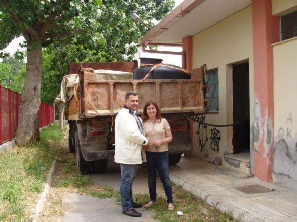 Βιοντίζελ από τηγανέλαια σε σχολεία της Θεσσαλονίκης