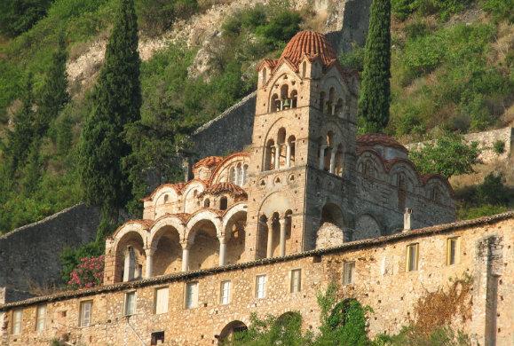 Τα μοναστήρια του Μυστρά