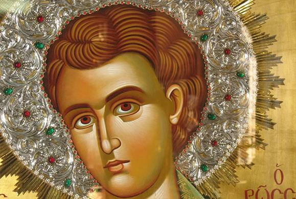 Άγιος Ιωάννης ο Ρώσος: Συσταύρωση με το Χριστό