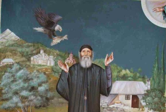 Ο Όσιος Παίσιος για τους διακονητές-προστάτες Αγίους μας