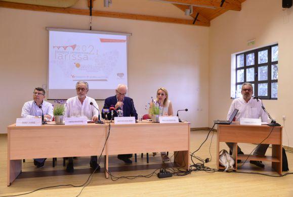 Υποψηφιότητα της Λάρισας ως πολιτιστικής πρωτεύουσας της Ευρώπης για το 2021
