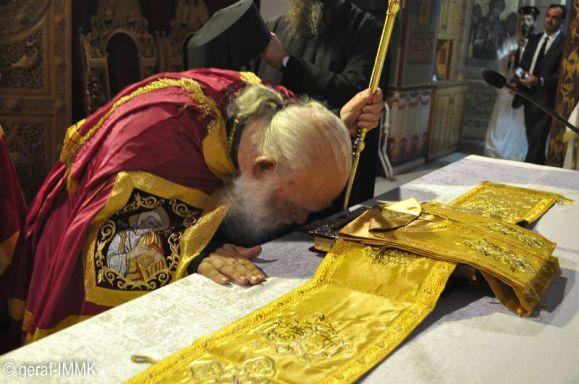 Ο Αρχιεπίσκοπος Ιερώνυμος στη Μονή του Αγίου Πορφυρίου