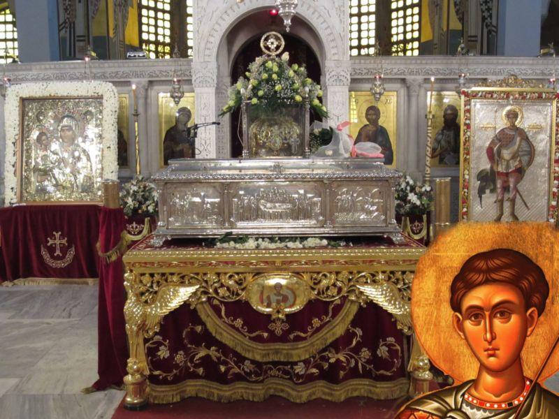 ο Άγιος Δημήτριος και ο «άπιστος» ασκητής