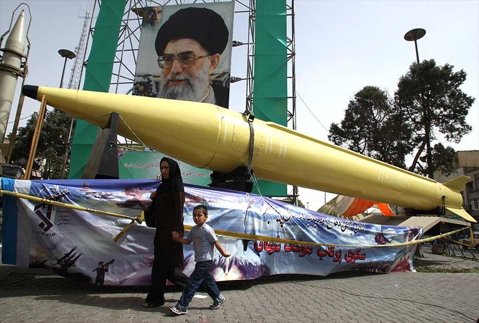 Σπάνιο βίντεο από το πυραυλικό οπλοστάσιο του Ιράν