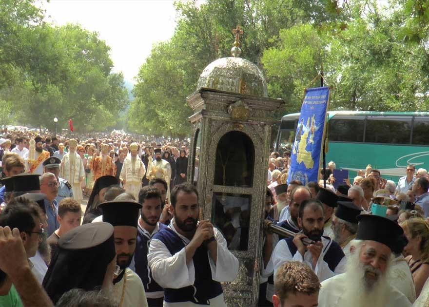 Οι εορταστικές εκδηλώσεις για τον πολιούχο της Κεφαλλονιάς, Άγιο Γεράσιμο