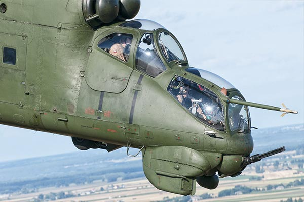 Ρωσικά επιθετικά ελικόπτερα Mi-24