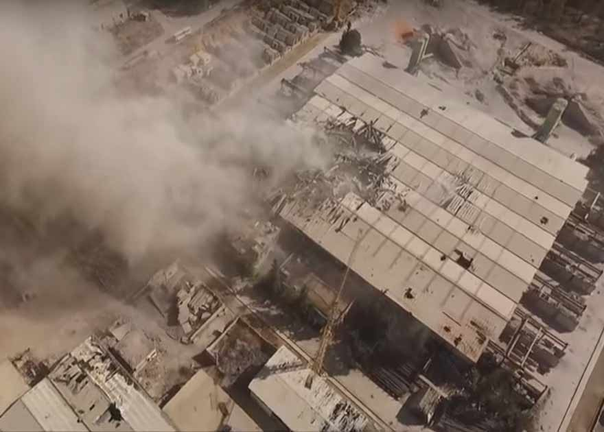 Συρία: 2 βίντεο με καταγραφές από τις κάμερες των μη επανδρωμένων Ρωσικών αεροσκαφών