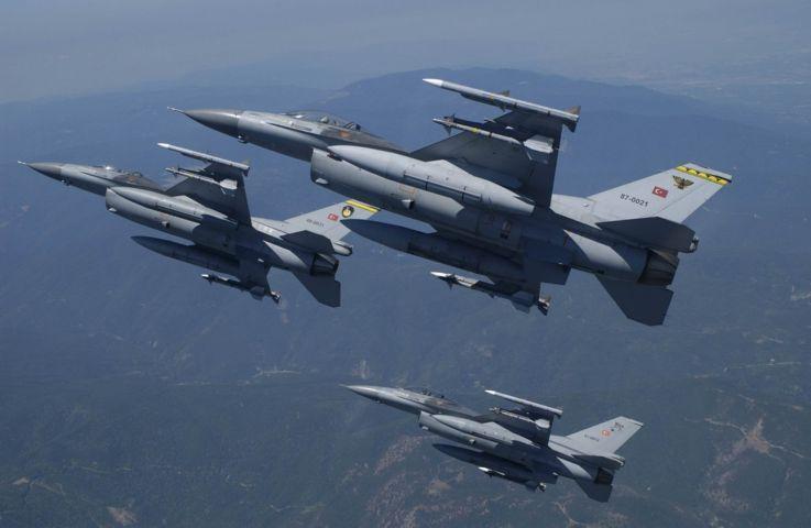 Εννέα αερομαχίες ελληνικών μαχητικών με τουρκικά F-16