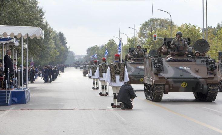 Η στρατιωτική παρέλαση στη Θεσσαλονίκη, ΕΙΚΟΝΕΣ