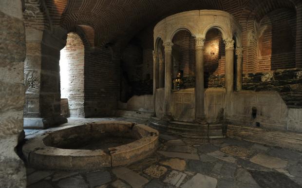 Η κρύπτη του Αγίου Δημητρίου στη Θεσσαλονική-video