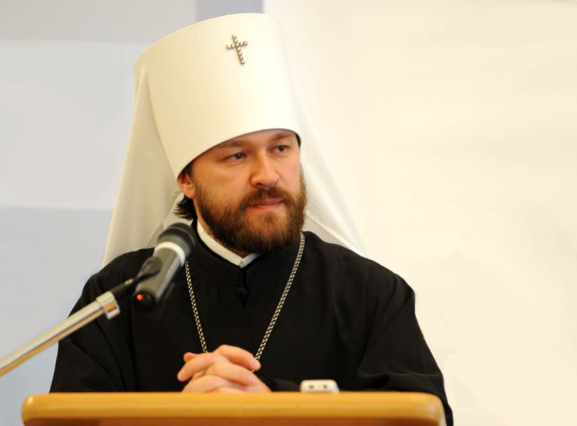 Βολοκολάμσκ Ιλαρίων : Ο Πατριάρχης τερματίζει την ευχαριστηριακή κοινωνία με τον Ιερώνυμο