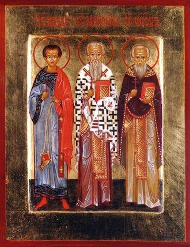 Συναξάρι 3-10, Άγιοι Ακεψιμάς, Ιωσήφ και Αειθαλάς