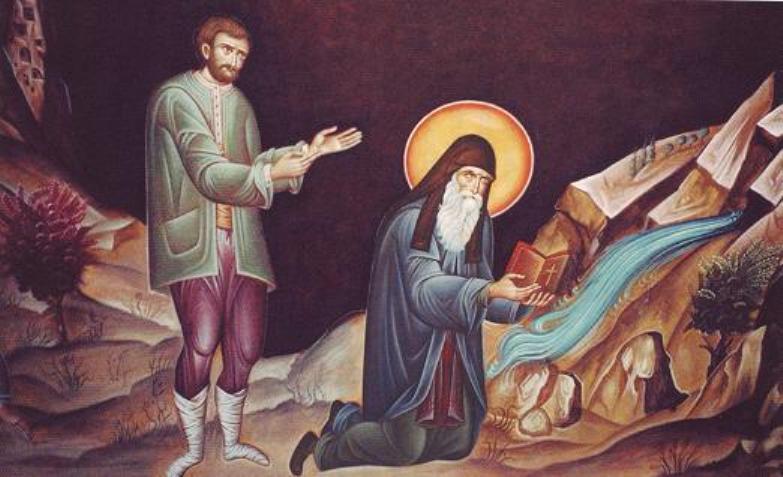 Ο Αγιος Αρσένιος ο Καππαδόκης και ο πλεονέκτης επίτροπος