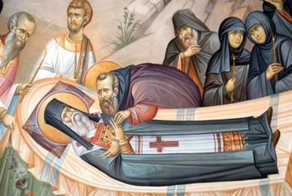 Η Κοίμηση του Αγίου Νεκταρίου