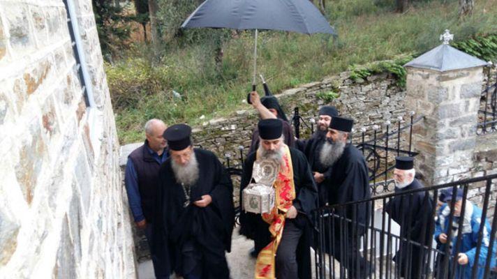 Η Τιμία Κάρα του Αγίου Ραφαήλ στο Άγιον Όρος, ΕΙΚΟΝΕΣ