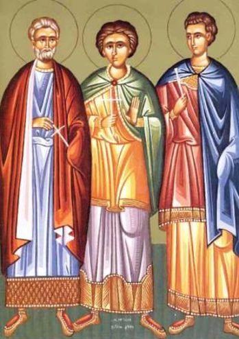 Συναξάρι 10 Δεκεμβρίου, Άγιοι Μηνάς ο Καλλικέλαδος, Ερμογένης και Εύγραφος