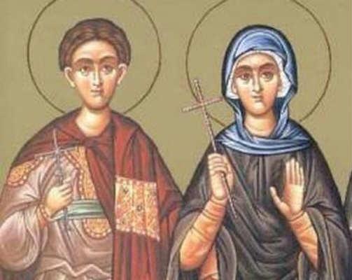 Συναξάρι 19 Δεκεμβρίου, Άγιοι Βονιφάτιος και Αγλαΐα
