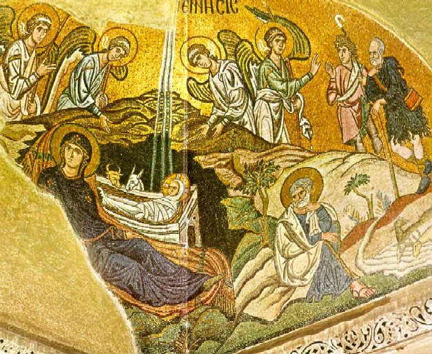 Συναξάρι 25 δεκεμβρίου, Η κατά σάρκα γέννησις του Κυρίου Ιησού Χριστού