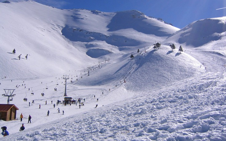 3-5 Πηγάδια : Βόλτα στο χιονοδρομικό με το παράξενο όνομα και τα… ανύπαρκτα πηγάδια