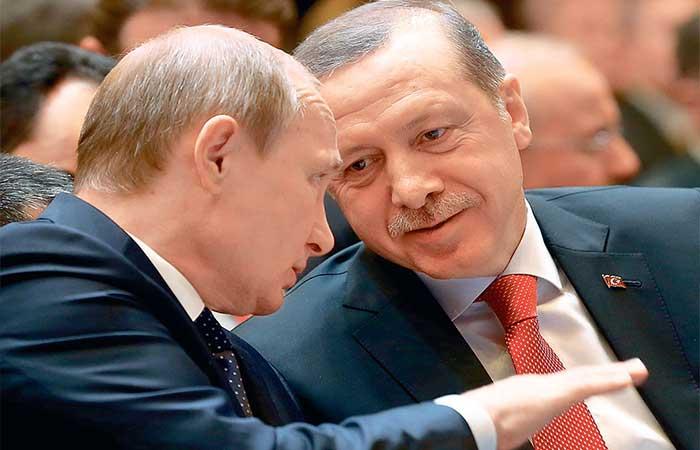 Έτοιμοι να φτάσουν στα άκρα Πούτιν και Ερντογάν