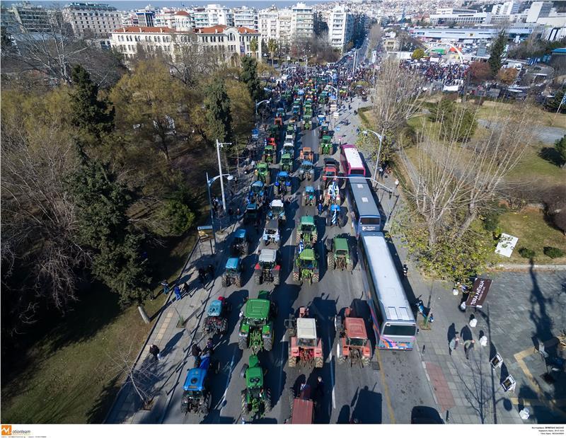 Κανένα τρακτέρ στην Αθήνα λέει η κυβέρνηση