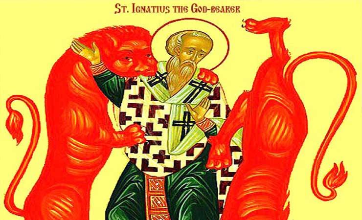 Συναξάρι 29 Ιανουαρίου, Ανακομιδή Ιερών Λειψάνων του Αγίου Ιερομάρτυρος Ιγνατίου του Θεοφόρου