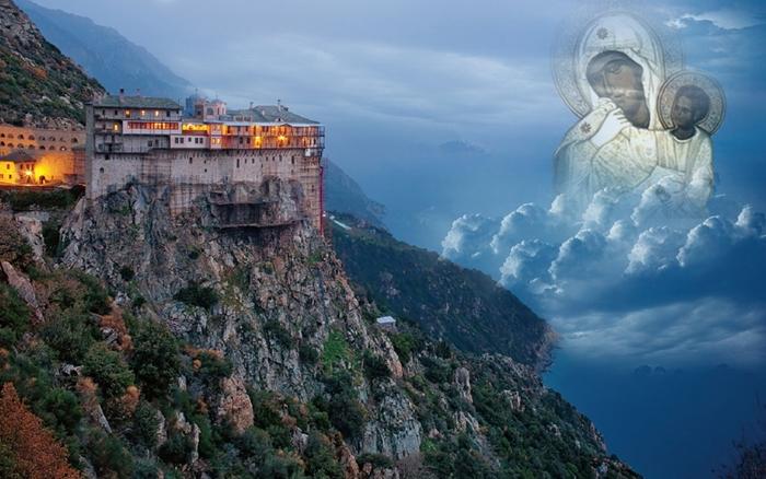 """Αποτέλεσμα εικόνας για Παναγία, η μάνα των Αγιορειτών"""""""