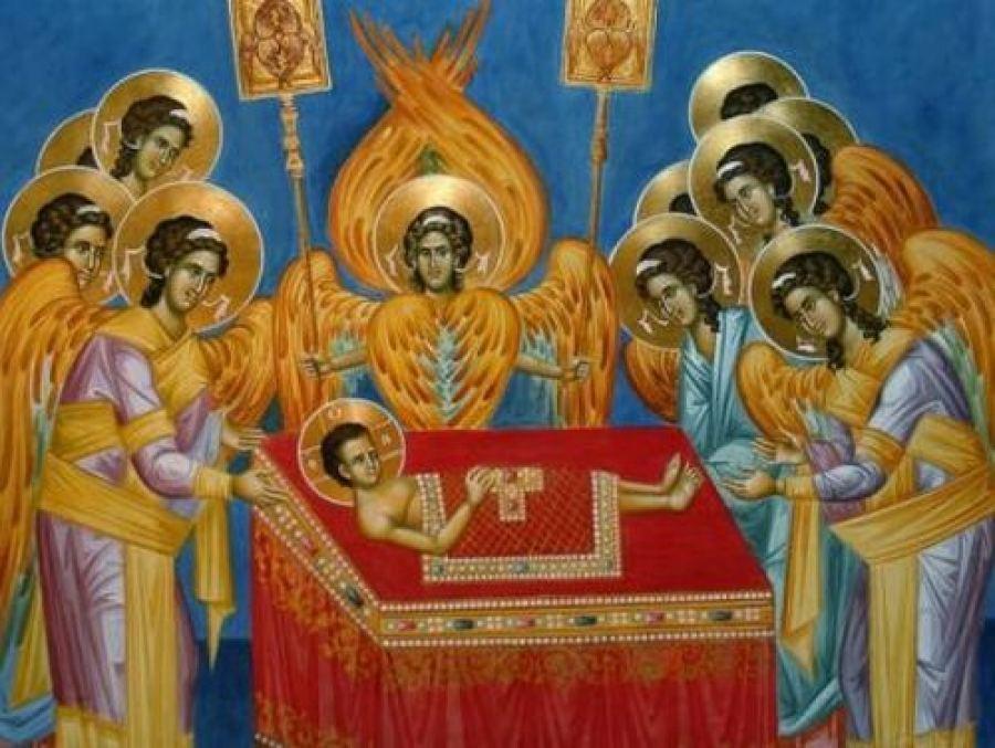 Ο άγιος Άρτος, που μεταλαμβάνομε, είναι αυτό το Σώμα του Κυρίου