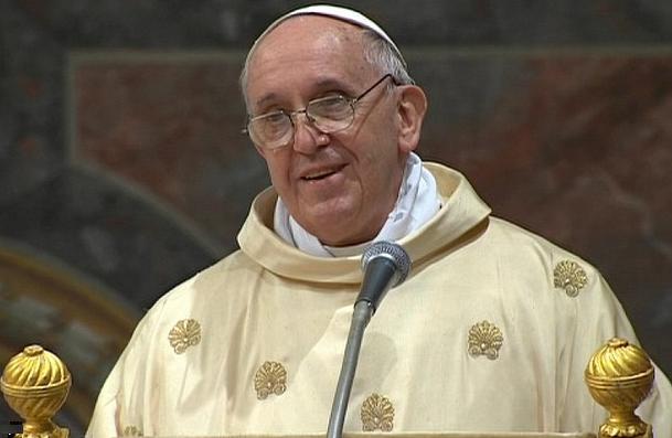 Αισχρό παιχνίδι του Πάπα με το χριστιανικό βάπτισμα για να προωθήσει την ένωση