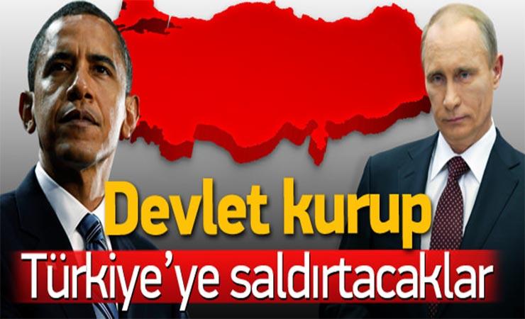 ΑΠΟΡΗΤΟ ΣΧΕΔΙΟ «ΑΝΟΙΞΗ»: Προωθείτε η διάλυση της Τουρκίας