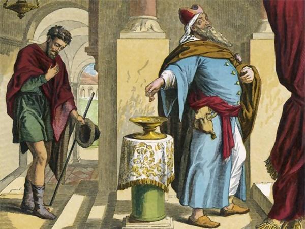 Τελώνης και Φαρισαίος: Όταν αλλάζει η φύση των πραγμάτων