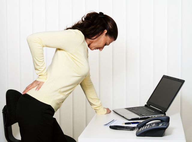 Μάθετε πως να αποφεύγεται τον πόνο στη μέση