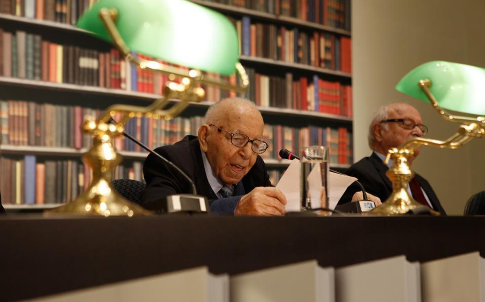 Έφυγε σε ηλικία 103 ετών ο ακαδημαϊκός Κωνσταντίνος Δεσποτόπουλος