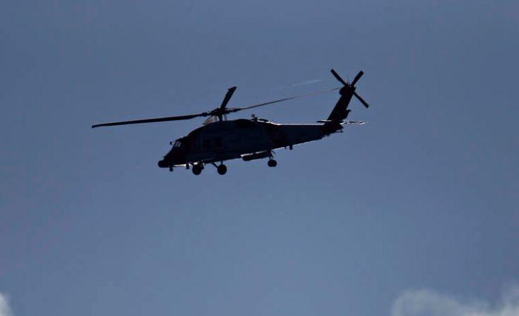 Ελικόπτερο Agusta Bell 212 του Πολεμικού Ναυτικού έπεσε στο Αιγαίο