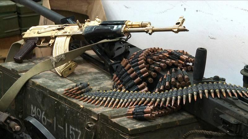 Έβρος: Εντοπίστηκαν χιλιάδες σφαίρες και Βαρύς οπλισμός