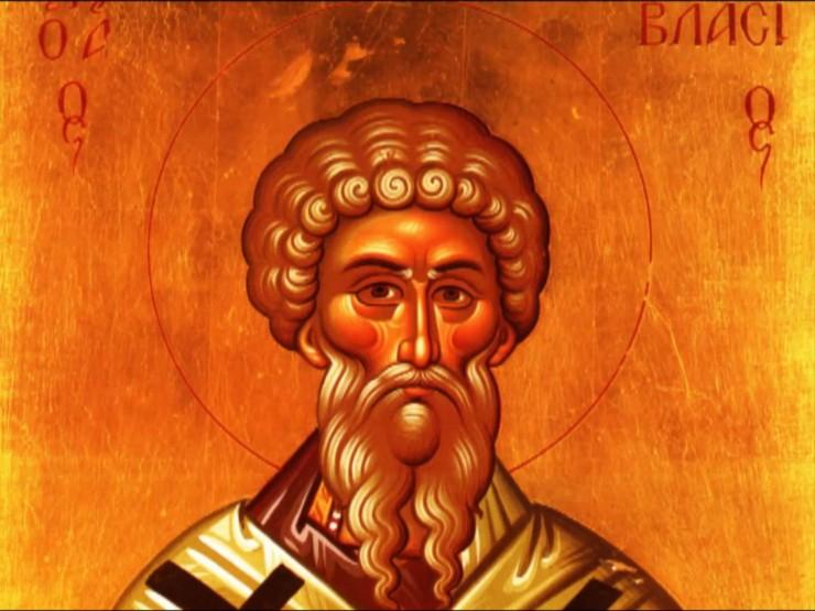 Συναξάρι 11 Φεβρουαρίου, Άγιος Βλάσιος Επίσκοπος Σεβαστείας