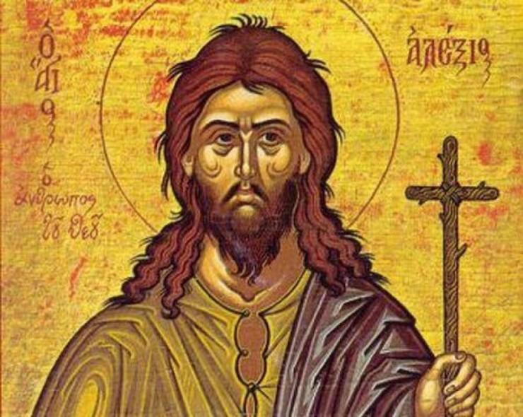 Συναξάρι 17 Μαρτίου, Όσιος Αλέξιος ο Ανθρώπος Του Θεού