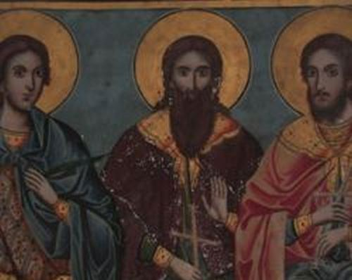 Συναξάρι 3 Μαρτίου, Άγιοι Μάρτυρες Βασιλίσκος, Ευτρόπιος και Κλεόνικος