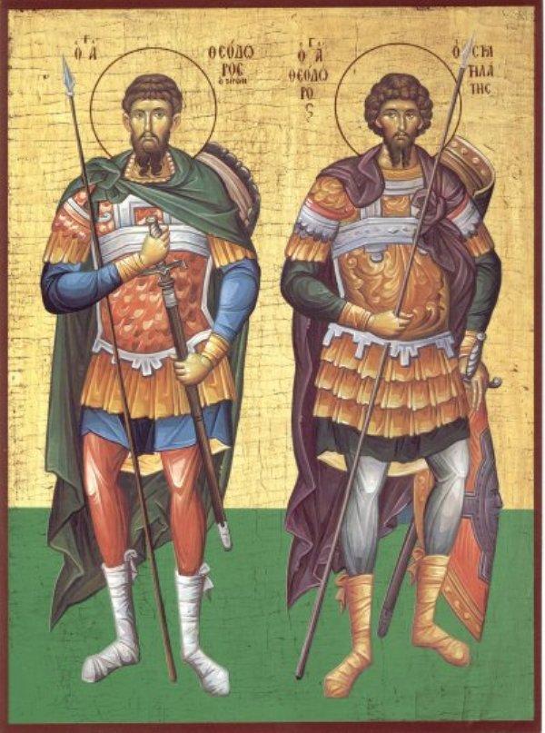 Συναξάρι 19 Μαρτίου, Ανάμνηση Θαύματος κολλύβων Αγίου Θεοδώρου του Τήρωνος